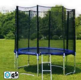 trampoline 4.5ft 18500 5 fts 22500 6ft 31500 heavy duty fully comer