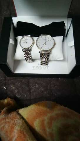 Tissot couple watch