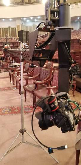 Jib camera crane Available for rent