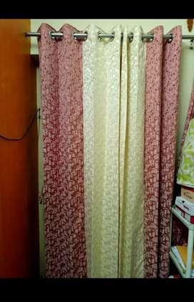 Curtains of door