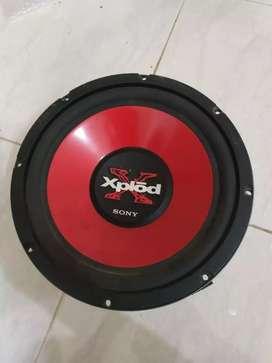 Subwoofer sony xplod 10 inch single