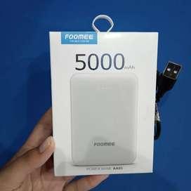 Foomee AA05 Power Bank Mini Double Port Usb 5000 mAh - AA05