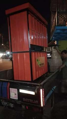 Booth Rombong Kontainer snacks taiwan shihlin dan franchise premium