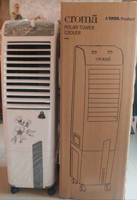 Brand new Croma polar tower cooler model no CRRC 1204 29L(Tata product