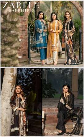 Zareen lawn by Sapphire 15 % off