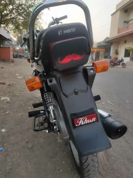 Hero splendor plus 2021 KM driving 3000