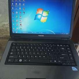 Tishiba laptop Dule core