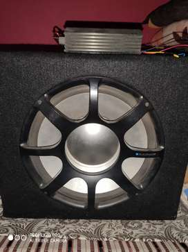 Subwoofer with amp