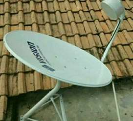 Indovision Mnc Vision Parabola harga stabil terjangkau