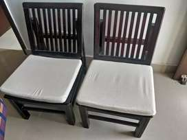 two aaram chairs