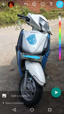We provide scootys in contract basis for  rapido