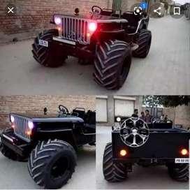 Modified landi jeep sandeep jeeps
