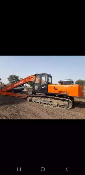 excavator tata long bhoom  40ft