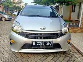 Toyota Agya G Th 2015 Manual Silver Metalik Siap Pakai TDP 12 Juta