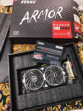 RX 580 8gb msi armour oc 10/10 condition