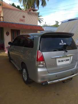 2 owner Good condition Innova Car for sale