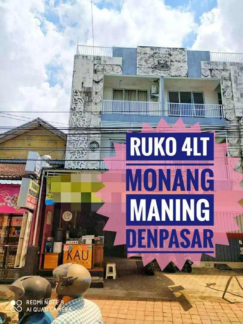 Dijual Ruko Tempat Usaha Toko Monang Maning Tegal Harum Denpasar Bali