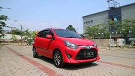 Toyota Agya G 1.2  manual 2017 tdp 15jt!!