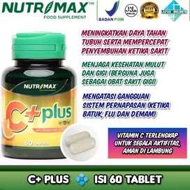 Nutrimax C+ Plus Imunitas Daya Tahan Tubuh Antioksidan Kesehatan Kulit
