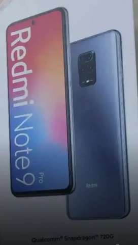 Mi NOTE 9 PRO 4GB RAM AND 128GB ROM 4 MONTH OLD GUD  CONDITIONS
