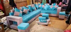 L sofa best quality 5 yar guarantee