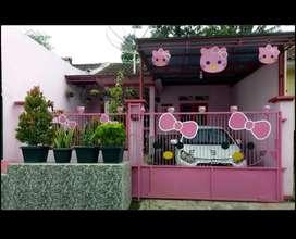 Rumah konsep hello kitty..