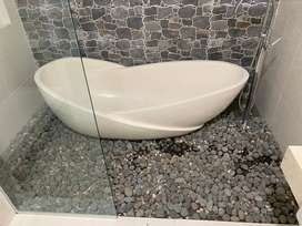 Bath Tub Marmer Terrazzo Padang Lawas Utara