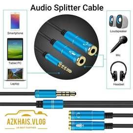 Audio Splitter Cable Jack 3,5MM / Jack Splitter