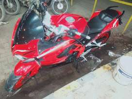 I want to sell my heavy bike on easy installment