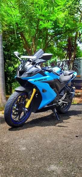 Yemaha R15 v3 bs4 blue dual abs