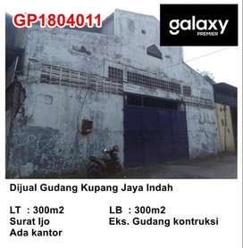 Dijual Gudang Kupang Jaya Indah Ciamik Pusat Bisnis!! Harga Cengli!!