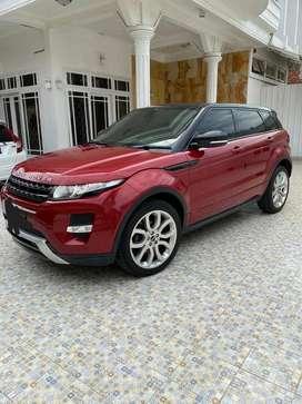 Range rover evoque 2012 merah merona