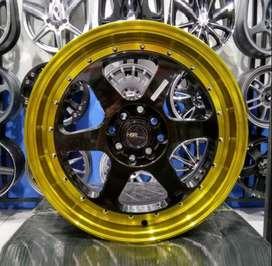 Velg HSR RUMOI R17 racing Mazda2, Vios, Yaris, Baleno, Ford Fiesta