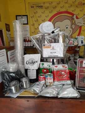 Paket Thai Tea Boba siap jualan