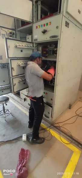 Electrical work in all types