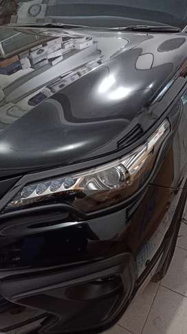 Garnish lampu depan fortuner vrz