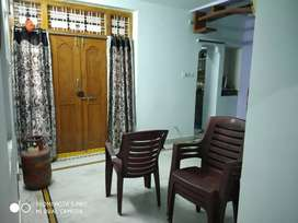 2 BHK Portion (Ground Floor) in an Independent House is for Rent.