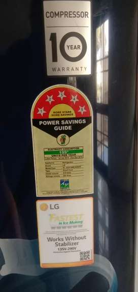 215 ltr LG fridge