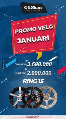 harga sale// ring15 4x100/114 mobilio freed datsungo wagonr timor vios