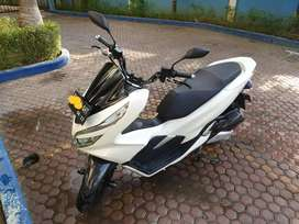 Honda PCX ABS Putih 2018 Mulus Lhokseumawe Plat Medan