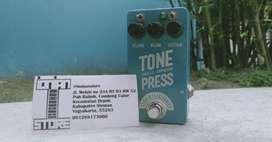 Efek Pedal Stomp Box Barber Electronics Tone Press Parallel Compressor