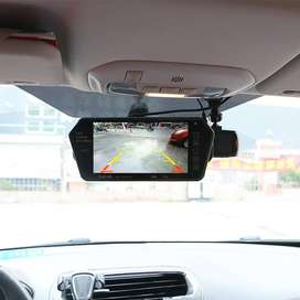 Rear View LCD Monitor with Camera 7 Inch USB SD CARD Supported