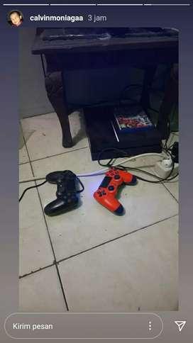 PS4 fat +tv samsung 32inch + hardisk