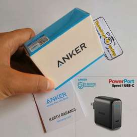 Anker Powerport Speed Charger Type-C PD Power Delivery 30W fr iPhone X