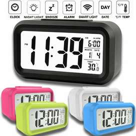 Jam Weker Digital Desktop Smart Clock
