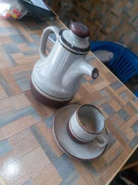 Tea Chainak and cup