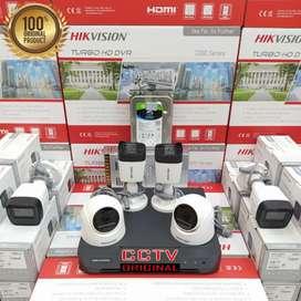 Jual dan pasang baru Kamera CCTV murah Kumplit COD free instalasi