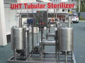 Mesin UHT Tubular Sterilizer, HTST, UHT, Ultra High Temperatur