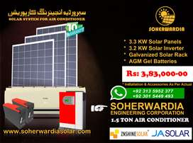 Solar Power for Air Conditioner. Solar System Prices for Air Condition