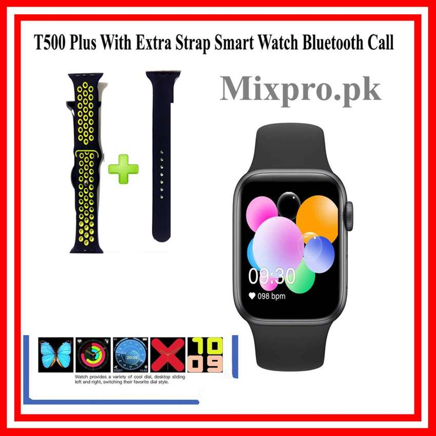 T500 Plus With Extra Strap Smart Watch Bluetooth Call 0